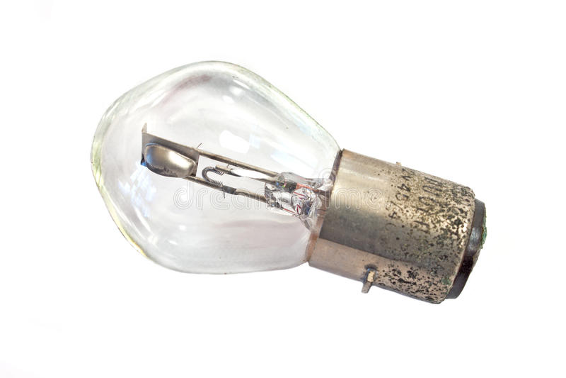 Vieille ampoule rouillée photos stock