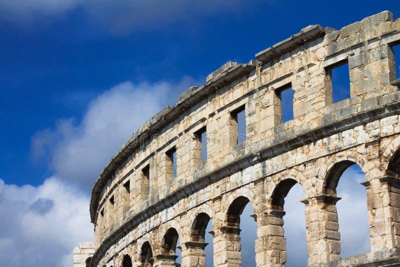 Vieille arène romaine photo libre de droits