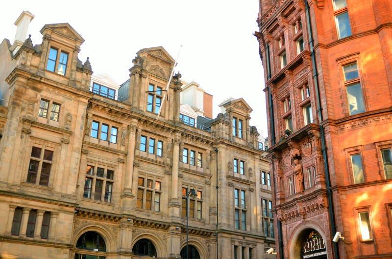 Vieille architecture à Nottingham, Angleterre photo stock