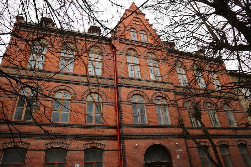 Vieille architecture d'Ivano-Frankivsk photo stock