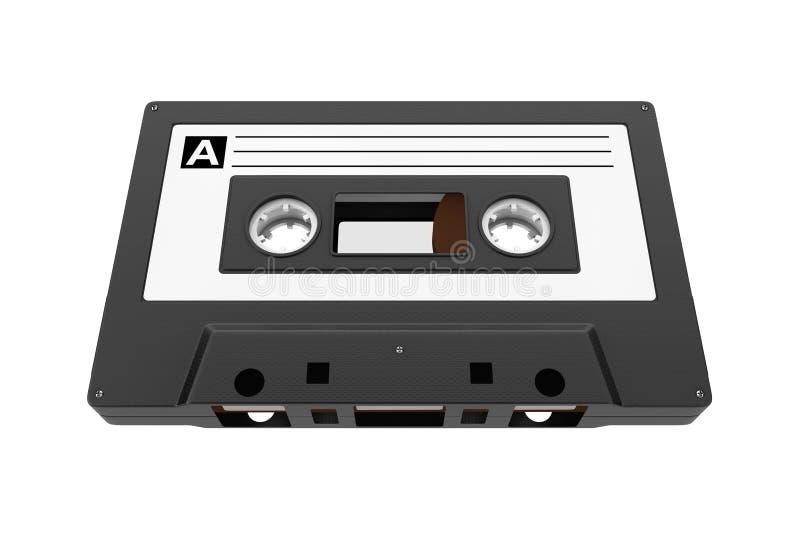 Vieille bande de cassette sonore de vintage rendu 3d illustration libre de droits