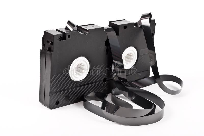 Vieille bande de magnétoscope photo libre de droits