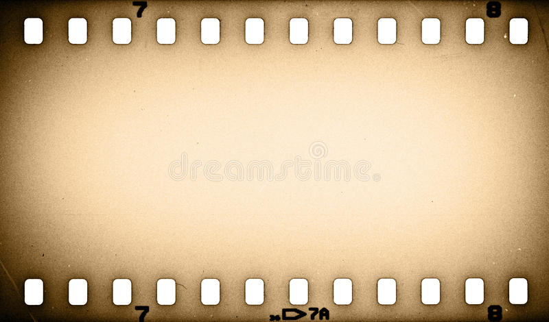 Vieille bande grunge de film illustration stock