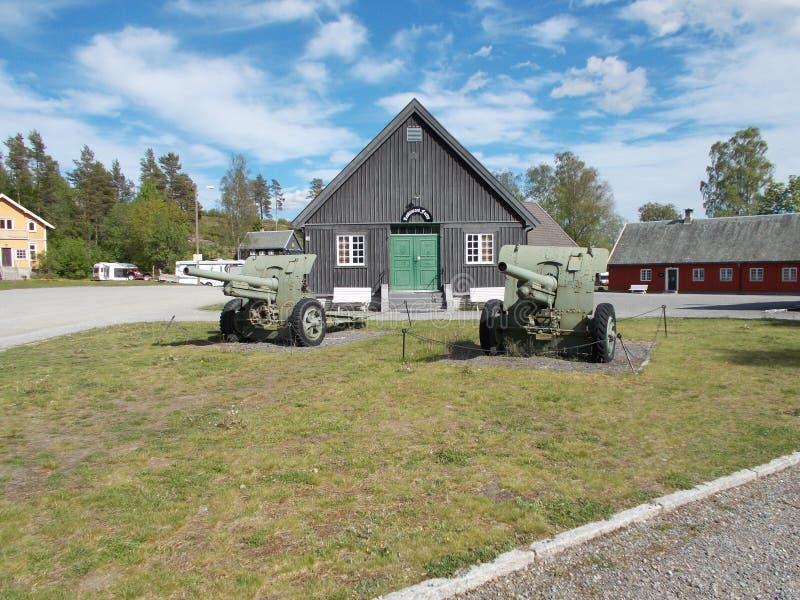 Vieille base militaire image libre de droits