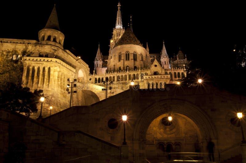 Vieille bastion à Budapest images stock