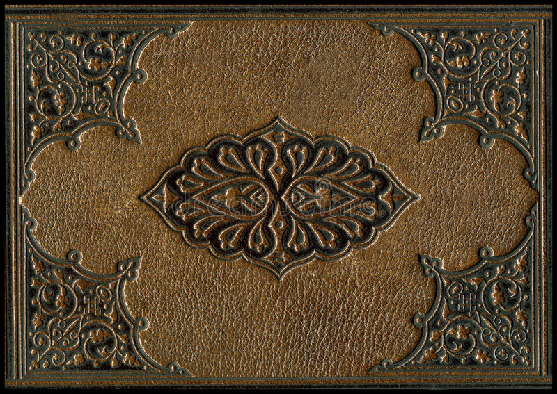 Vieille bible en cuir photo libre de droits