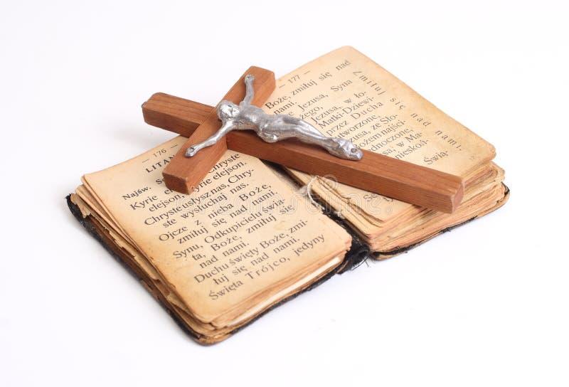Vieille bible sainte photographie stock