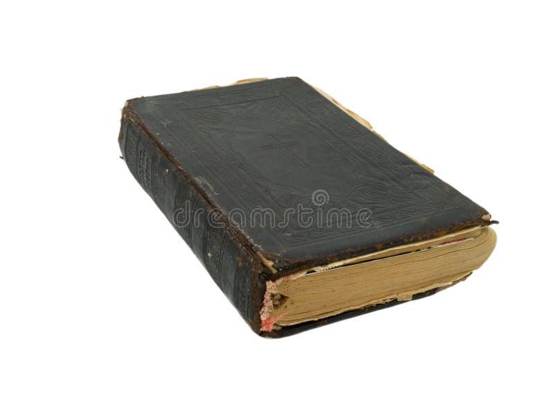 Vieille bible sainte image stock