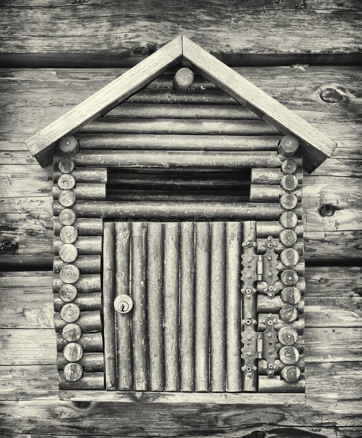 Vieille boîte de lettre image libre de droits