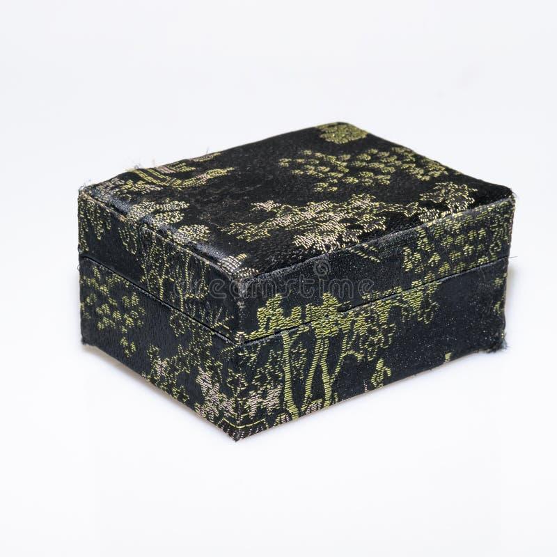 Vieille boîte noire  photographie stock