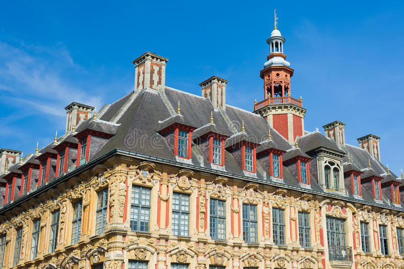 Vieille Bourse in Lille royalty free stock images