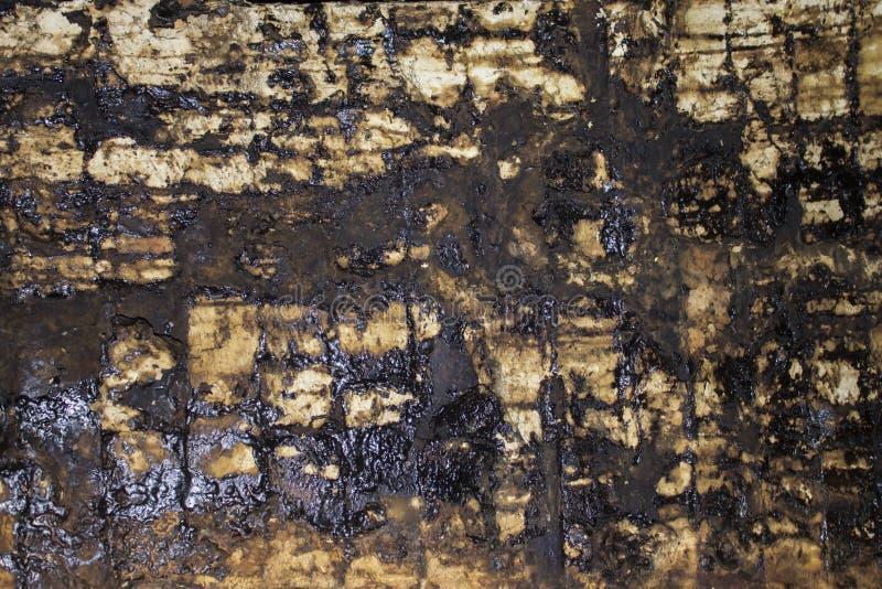 Vieille brique sale en suie photos stock