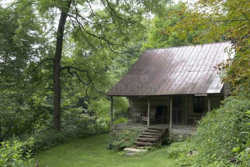 Vieille cabine photo stock