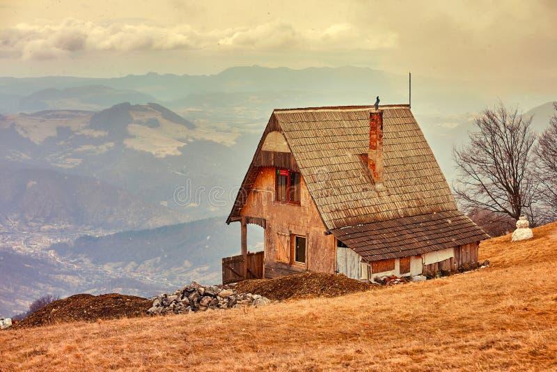 Vieille cabine photo libre de droits