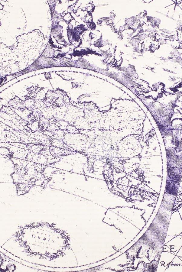 Vieille carte photo libre de droits