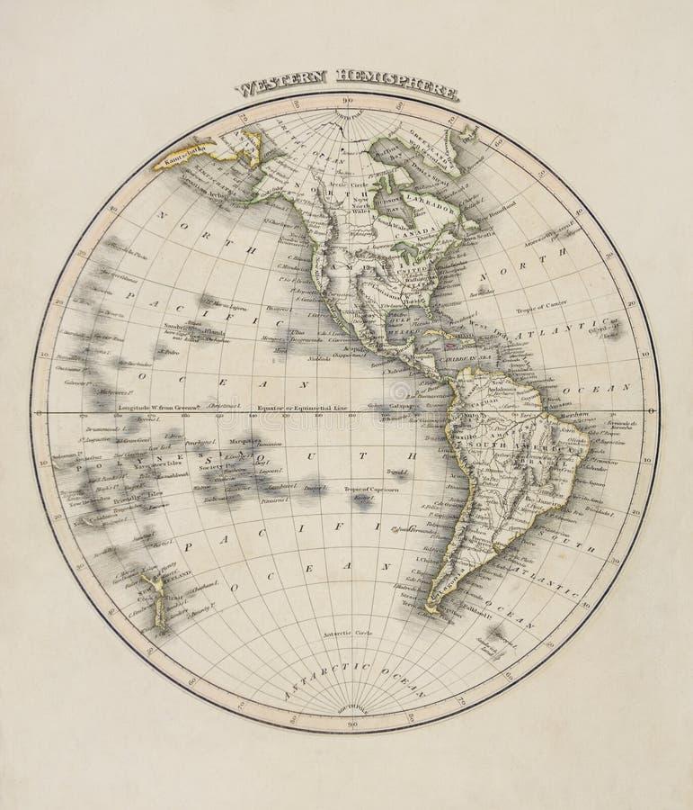 vieille carte du monde photo stock image du vieux antiquit 13850184. Black Bedroom Furniture Sets. Home Design Ideas