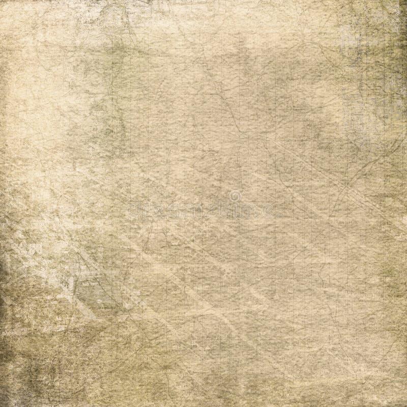 Vieille carte fanée image stock