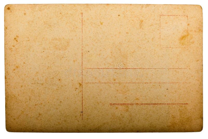 Vieille carte postale photographie stock