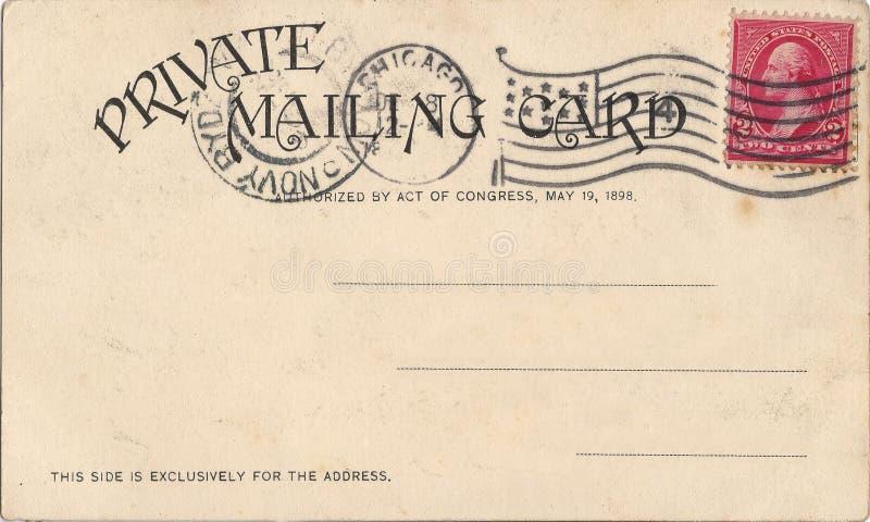 vieille carte postale photos libres de droits