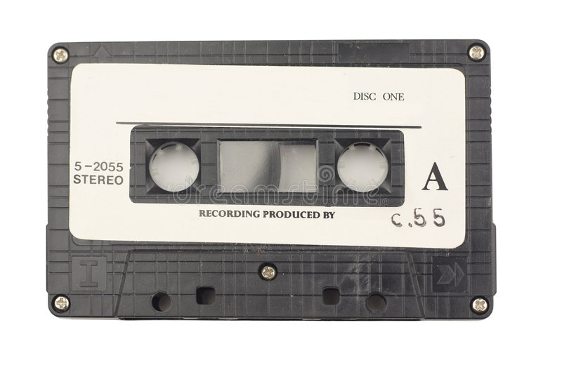 Vieille cassette photographie stock libre de droits