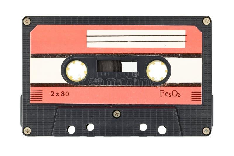 Vieille cassette de bande audio photographie stock libre de droits