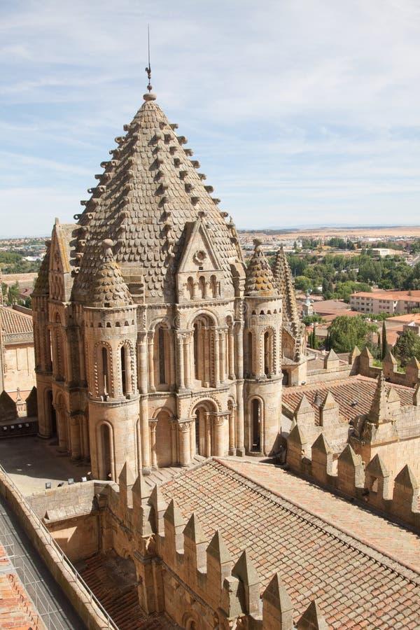 Vieille cathédrale de Salamanque photos libres de droits