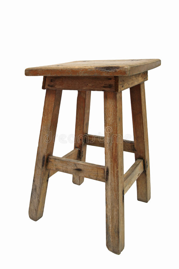 Vieille chaise en bois chinoise photos libres de droits