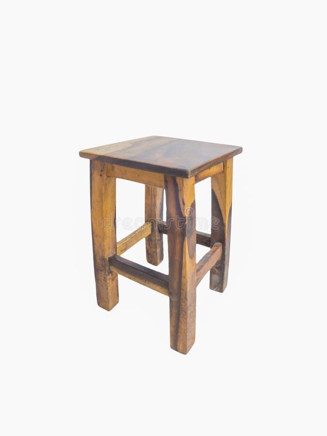 Vieille chaise en bois chinoise images libres de droits