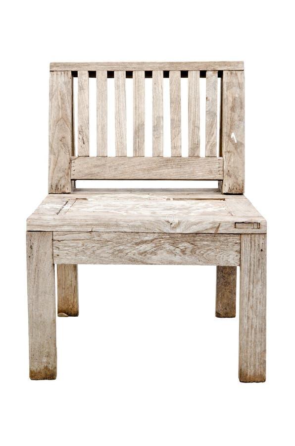 vieille chaise en bois de vintage d 39 isolement sur le fond blanc photo stock image du classique. Black Bedroom Furniture Sets. Home Design Ideas