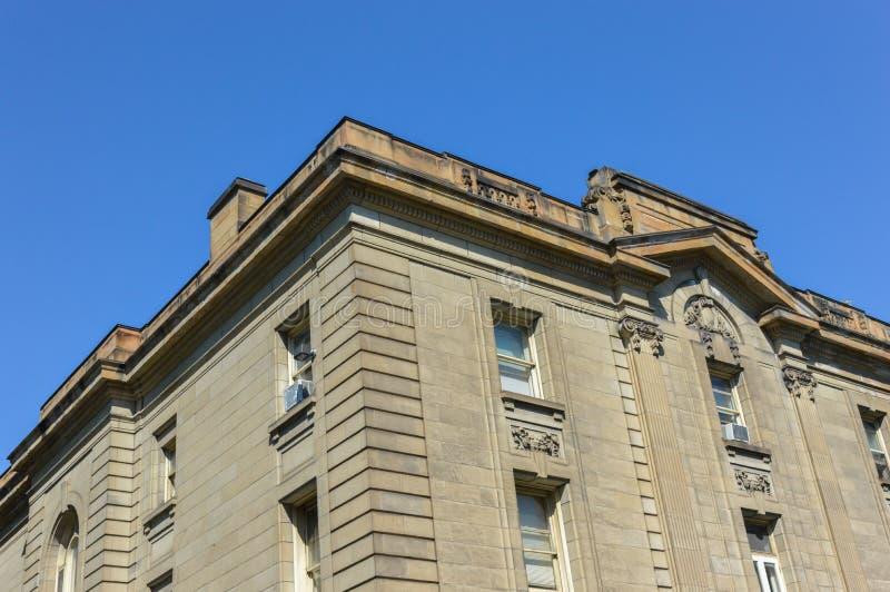 Vieille Chambre à Montréal du centre photographie stock