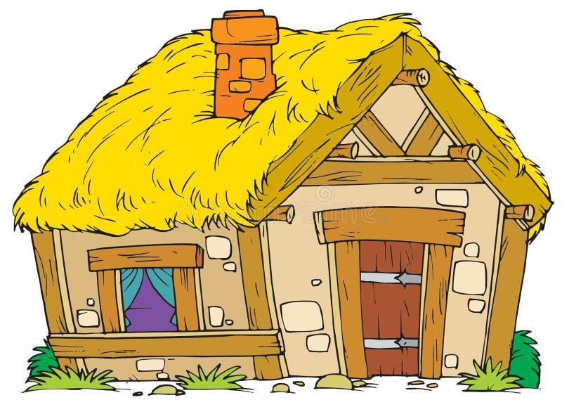 Vieille Chambre rurale illustration libre de droits