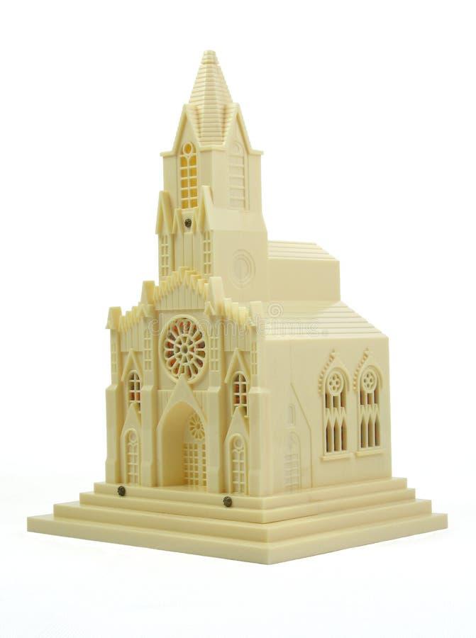 Vieille chapelle de jouet photos stock
