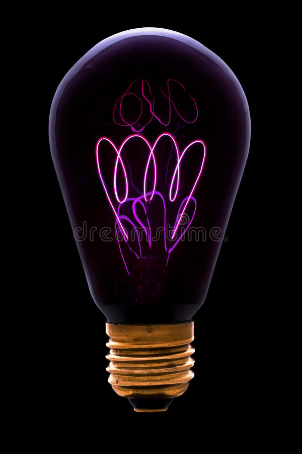Vieille chaufferette d'ampoule photographie stock libre de droits