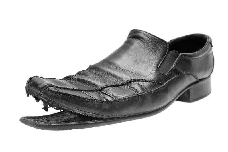 Vieille chaussure image libre de droits