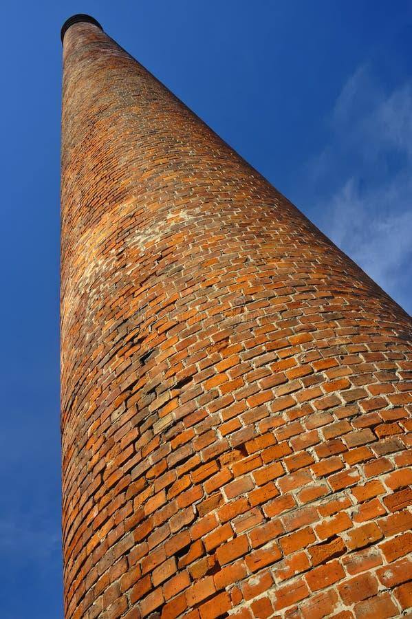 Vieille cheminée images stock