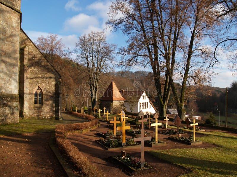 Vieille cimetière photos libres de droits