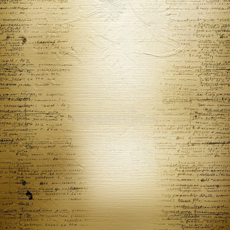 Vieille conception de papier grunge illustration libre de droits