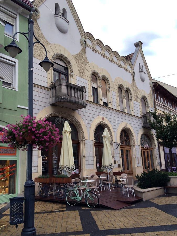 Vieille construction à Budapest photographie stock libre de droits