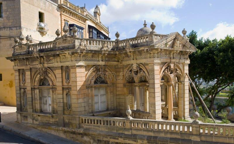 Vieille construction à Valletta Malte photographie stock
