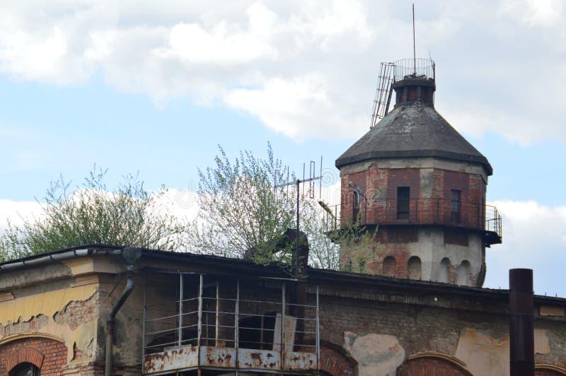 Vieille construction photo libre de droits