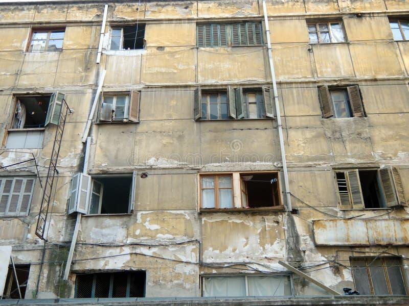 Vieille construction abandonnée photographie stock libre de droits