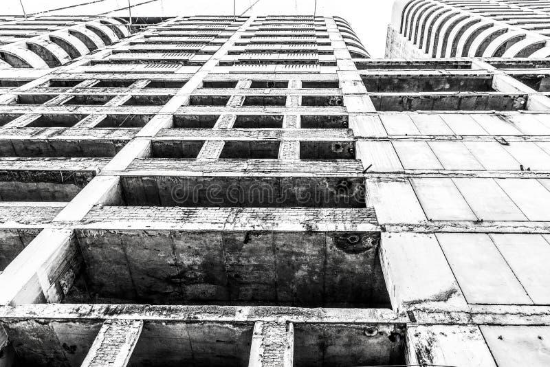 Vieille construction abandonnée images libres de droits