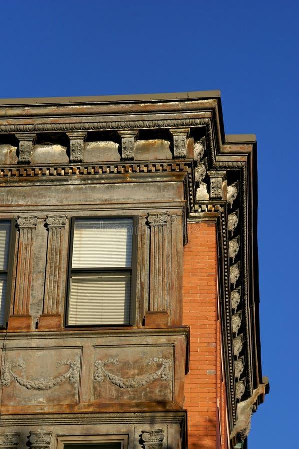 Vieille construction de Boston photo stock