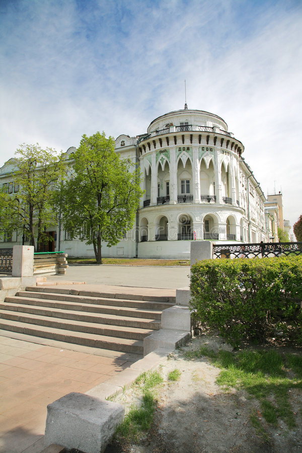 Vieille construction russe photos libres de droits