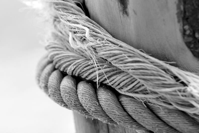 Vieille corde photos stock