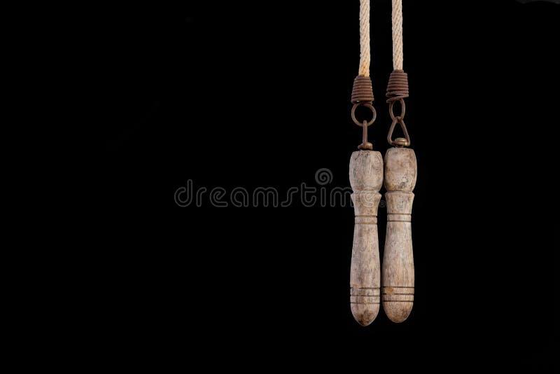 Vieille corde de saut photo libre de droits