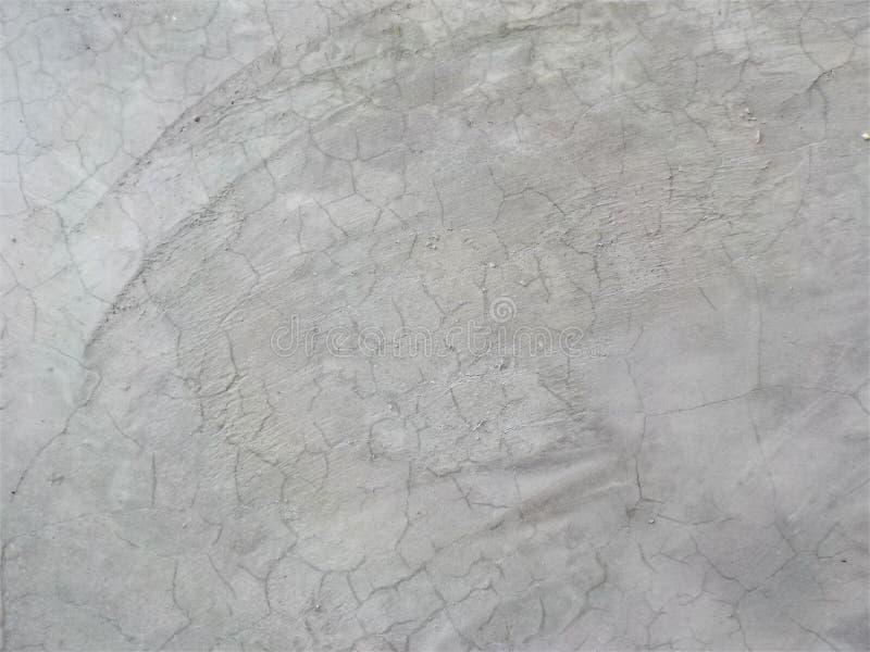 Vieille couleur de blanc de texture de ciment photos stock