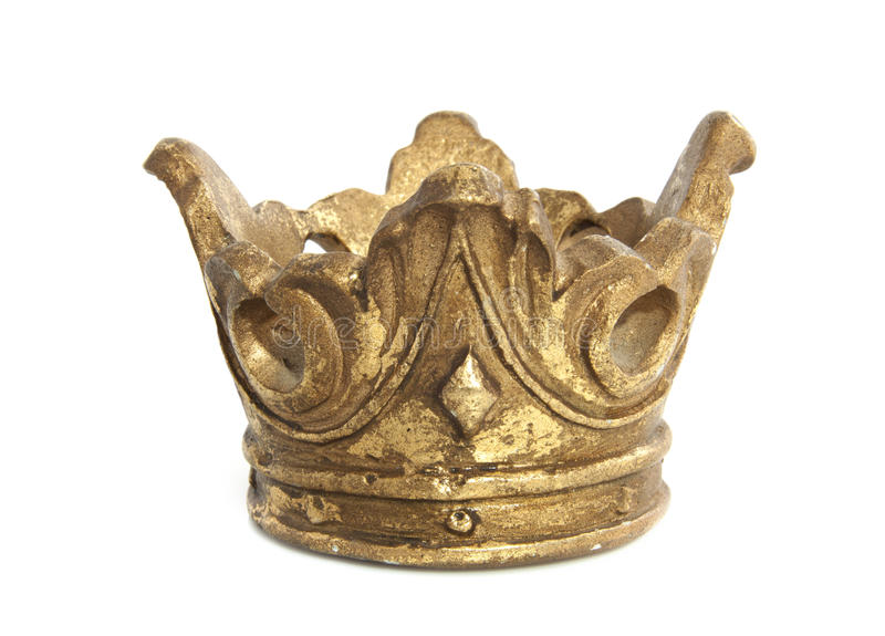 Vieille couronne photo stock