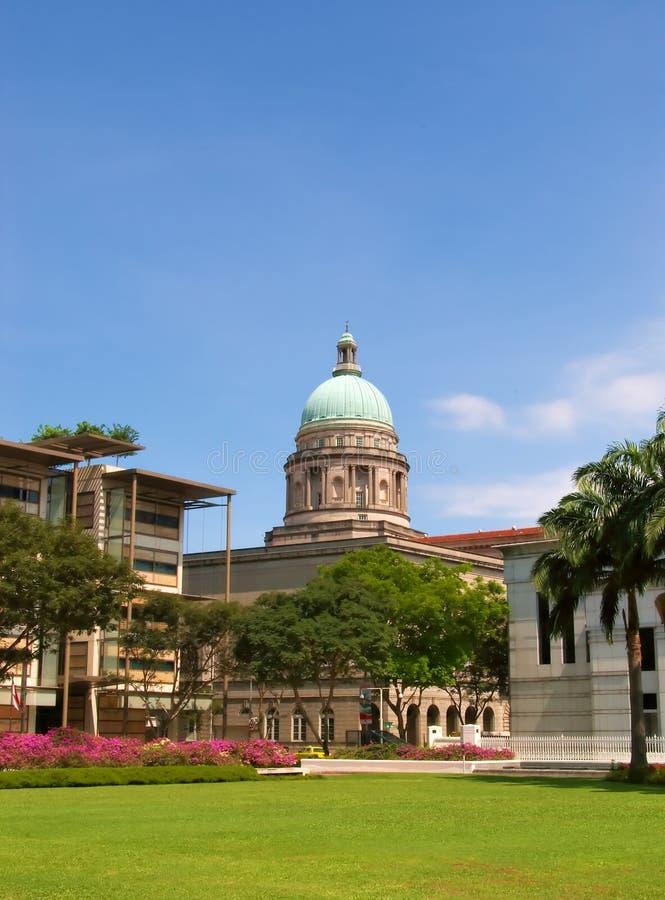 Vieille court suprême, Singapour photographie stock libre de droits
