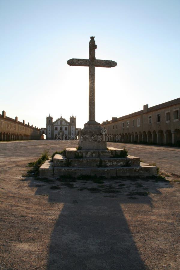 Vieille croix image libre de droits